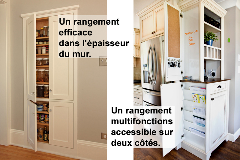 walk in et rangement efficaces pour la cuisine. Black Bedroom Furniture Sets. Home Design Ideas