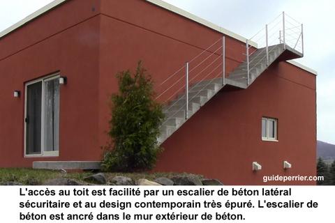 Après Avoir étudié De Nombreux Modes De Construction, Son Choix Su0027est  Arrêté Sur La Construction Du0027une Maison En Béton Coulé.