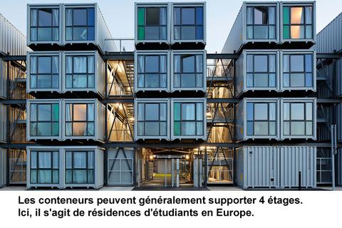conteneurs acier habitation economique