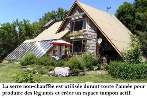 Construction maison solaire passive