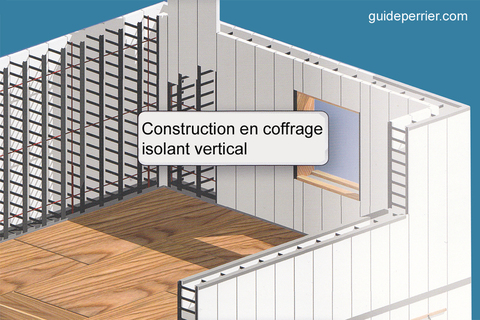 coffrage isolant maisons beton