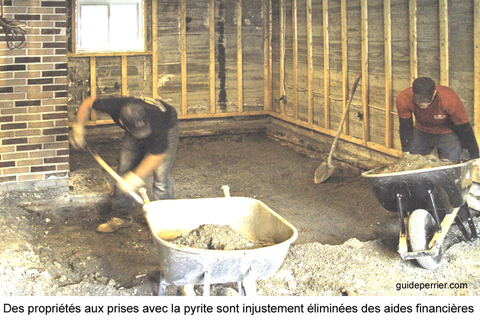 test de pyrite des analyses trompeuses pour les acheteurs guide perrier. Black Bedroom Furniture Sets. Home Design Ideas