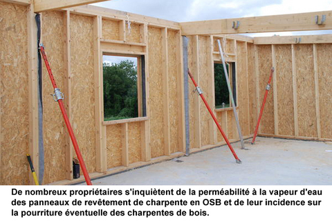 Permeance ou perm abilit des murs ext rieurs guide perrier for Construction mur exterieur quebec