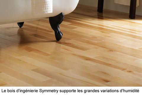 installer des planchers de bois d'ingénierie sur du contreplaqué