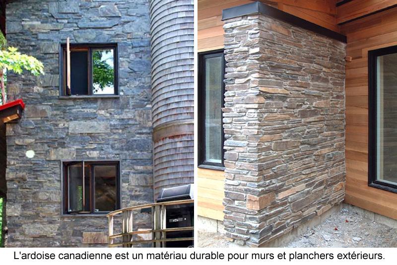 Ardoise Canadienne Pour Murs Et Planchers  Guide Perrier