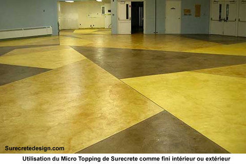 Dalle de b ton fissur e ou endommag e comment r parer for Dalle beton finition quartz