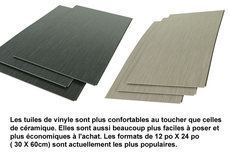 tuiles et lattes de vinyle pour planchers un bon choix pour les sous sols guide perrier. Black Bedroom Furniture Sets. Home Design Ideas