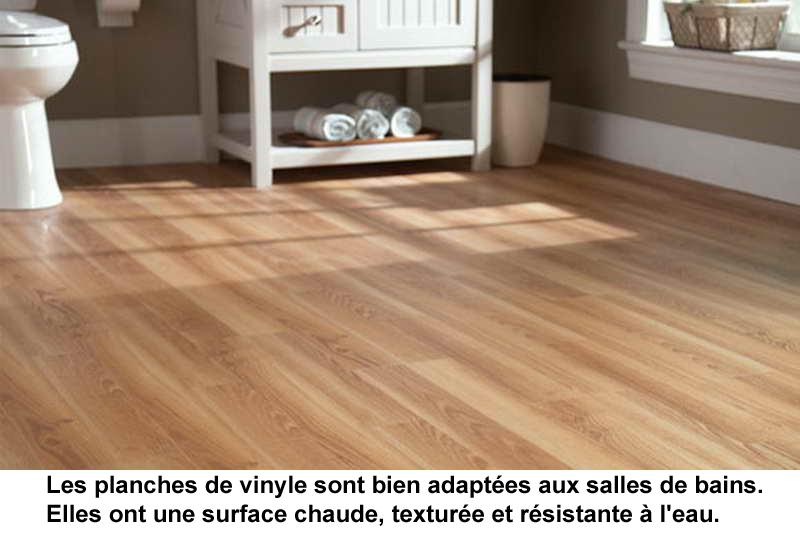 Plancher soussol vinyle