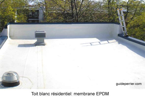 membrane epdm blanche rev tements modernes du toit. Black Bedroom Furniture Sets. Home Design Ideas