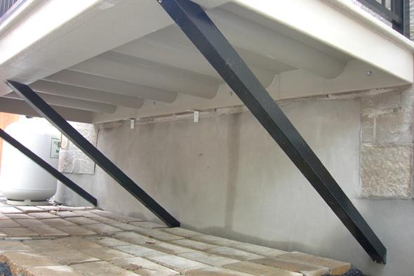 un balcon de fibre de verre structural guide perrier. Black Bedroom Furniture Sets. Home Design Ideas