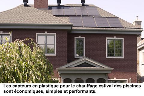 Choix de capteurs solaires pour chauffe eau au qu bec for Chauffe piscine gaz