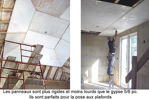 plafonds oxyde magnesium