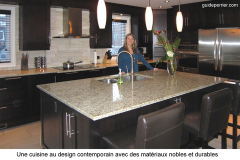 Dosseret cuisine contemporain id es de design d for Decoration cuisine dosseret