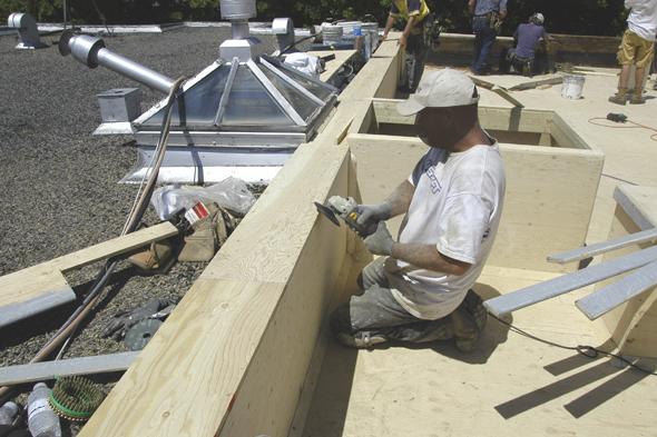 toit plat de fibres de verre pour toit terrasse guide perrier. Black Bedroom Furniture Sets. Home Design Ideas