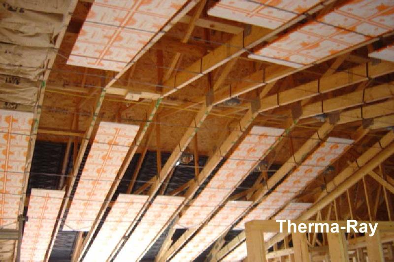 Chauffage radiant lectrique par le plancher ou le plafond - Chauffage electrique au plafond ...