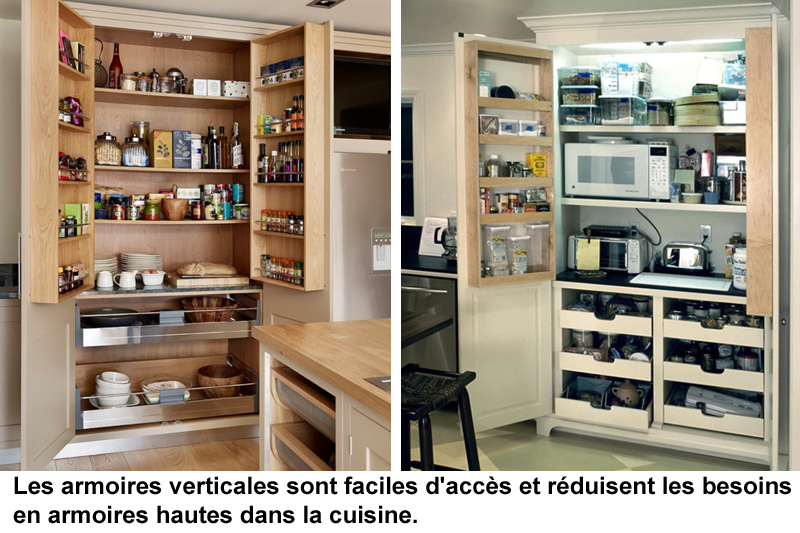 armoires et rangement efficaces r novation de cuisines. Black Bedroom Furniture Sets. Home Design Ideas