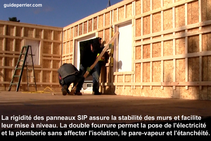 Panneaux sip construction rapice de maisons neuves au qu bec for Construction mur exterieur quebec