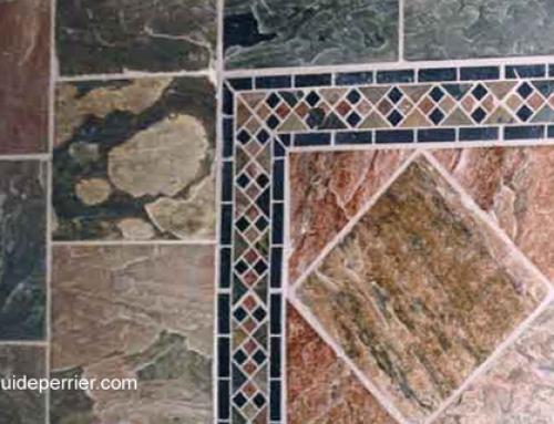 Choix de carreaux de pierre pour planchers