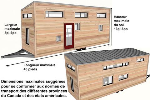 Dimensions Maisons Sur Roues