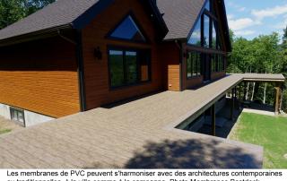 _balcon membrane pvc