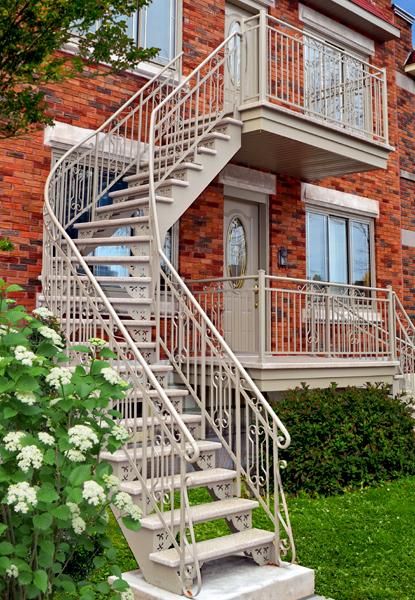 escalier soude