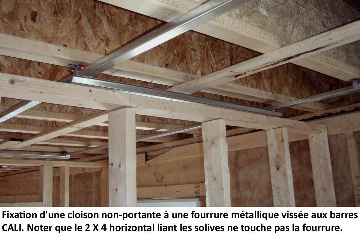 insonorisation de plancher de condo avec ou sans b ton. Black Bedroom Furniture Sets. Home Design Ideas