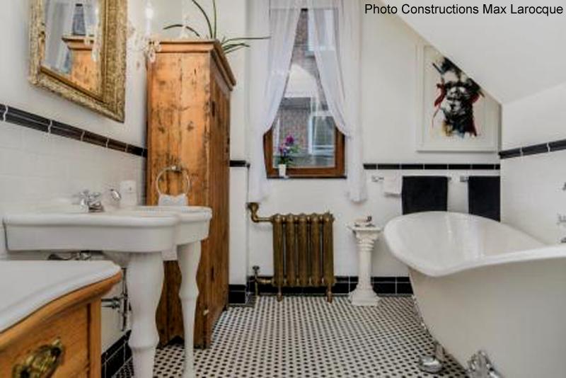 Salles de bains inspirées du passé - Guide Perrier
