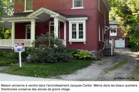 Des habitations près du centre ville maison a vendre sherbrooke