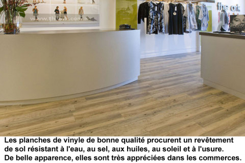 planches vinyle commerce