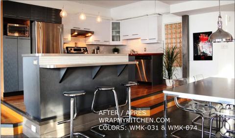 Armoires de cuisine ou salle de bains: rénover à moindre coût