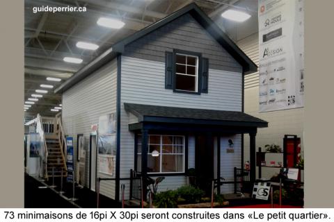 Minimaisons à Sherbrooke: une visite emballante