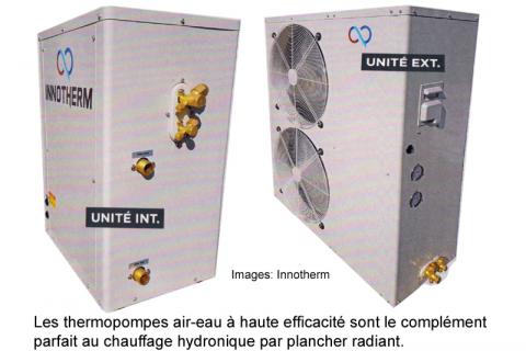 Thermopompes air-eau et planchers radiants: une combinaison parfaite !