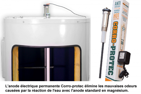 Chauffe-eau: éliminer la mauvaise odeur de l'eau chaude