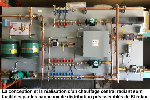 Installation de plancher radiant: des systèmes préassemblés